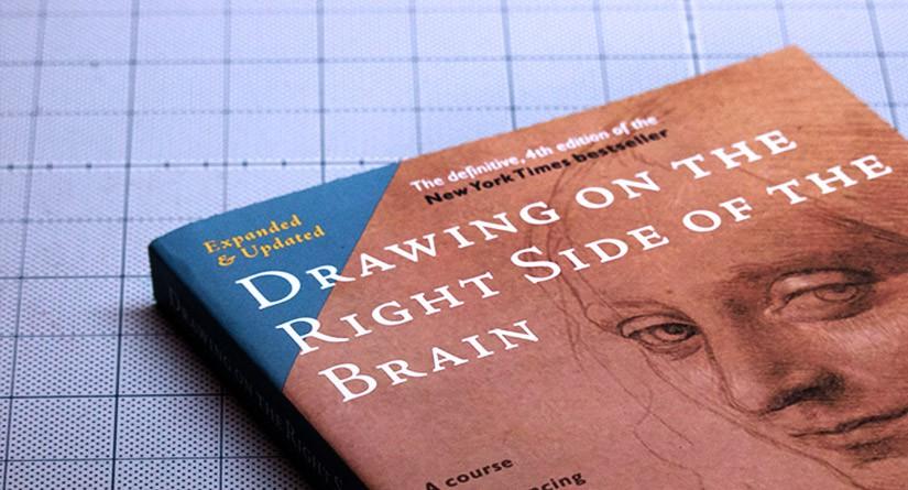 絶版で入手困難となってしまった絵の描き方の入門書『脳の右側で描け』が第四版となって発売予定