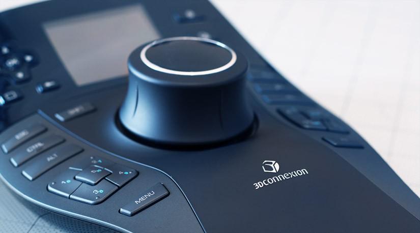 3Dconnexion SpacePilot Proを使用する利点